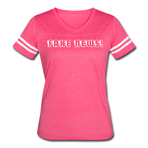 Fake News! Women's Vintage Sport T-Shirt - QSR-Unlimited