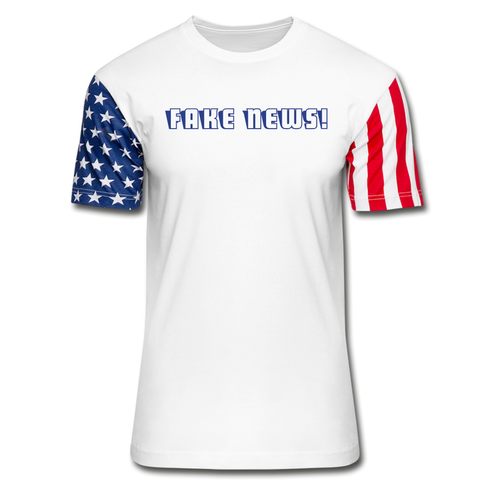 Fake News! Stars & Stripes T-Shirt - QSR-Unlimited