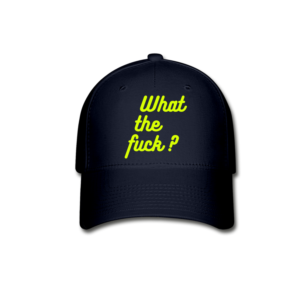 What the Fuck? Baseball Cap - QSR-Unlimited