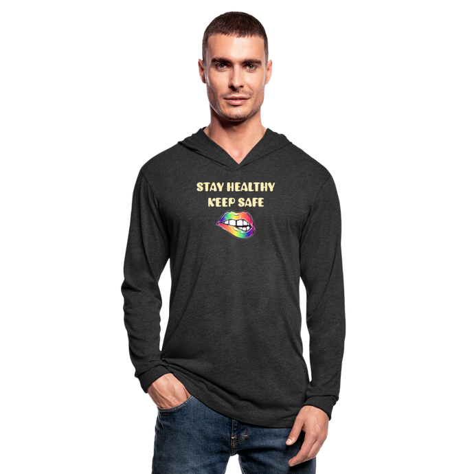 Stay Healthy Keep Safe Unisex Tri-Blend Hoodie Shirt - QSR-Unlimited