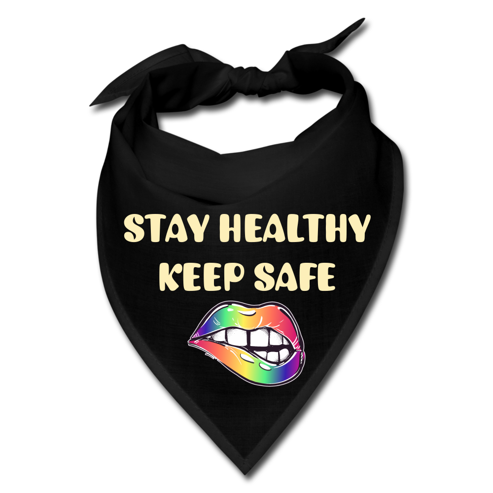 Stay Healthy Keep Safe Bandana - QSR-Unlimited
