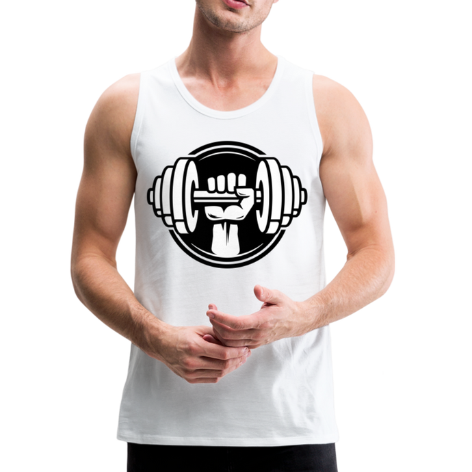Men's Premium Dumbbell Tank - QSR-Unlimited