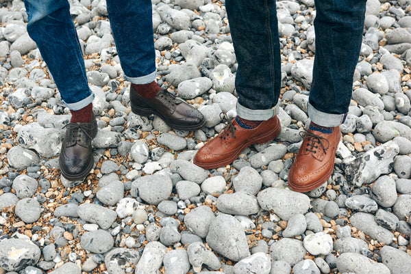 Tricker's Shoes: Two Soles Named Bourton and Stow