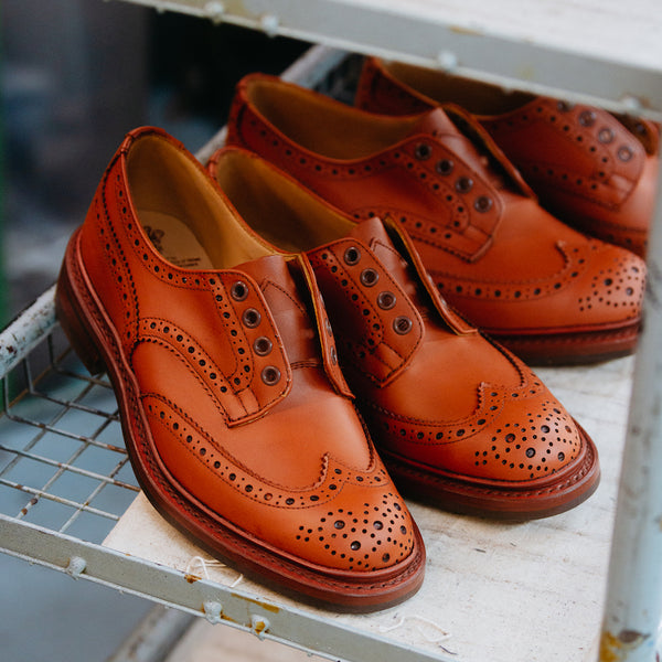 Trickers Mason & Sons Shoes Heritage Bourton Stow Brogue