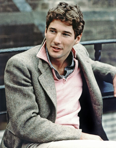 Mason and Sons Winter Knitwear Guide Half Zip Sweater Richard Gere