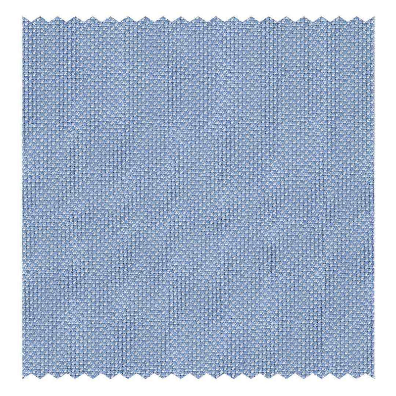 Sky-Blue Open-Weave Oxford (2 Fold 80's)