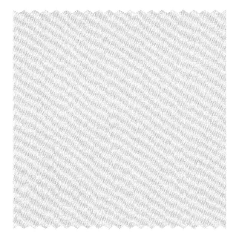 White Poplin (2 Fold 100's) (98% twisted Cotton/2% Elastane)