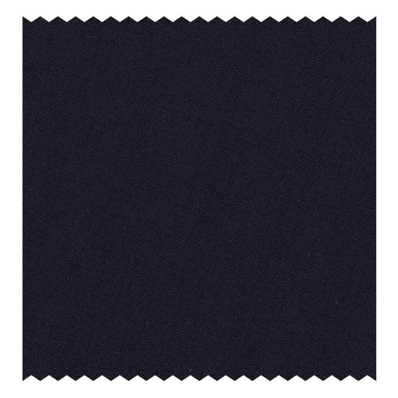 Dark-Blue Poplin (2 Fold 100's) (98% twisted Cotton/2% Elastane)