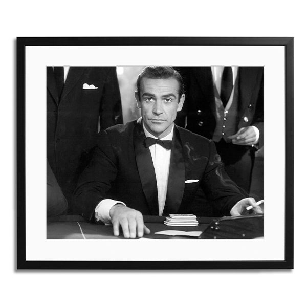Connery as Bond in Dr No