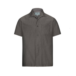 Midnight Chambray Short Sleeve Marina Shirt