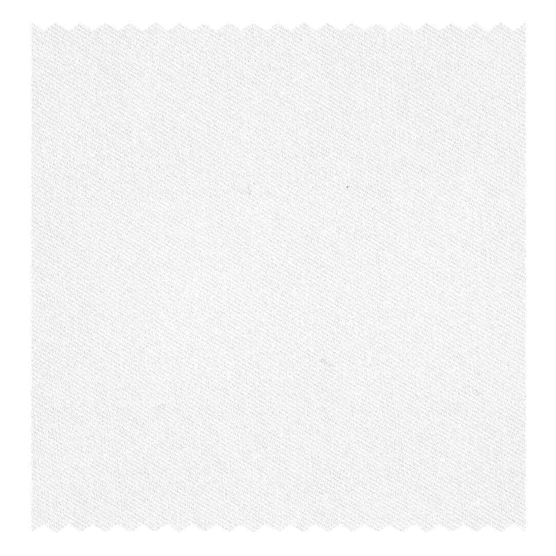 White 9mm Satin Tramline-Stripe Poplin (2 Fold 100's)