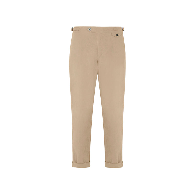 Tan Travel Twill Cruiser Trousers