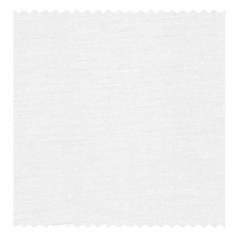 White Linen & Cotton Plain Weave (Sea Island Quality)