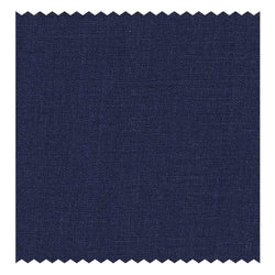 Navy-Blue Plain-Weave (Linen)