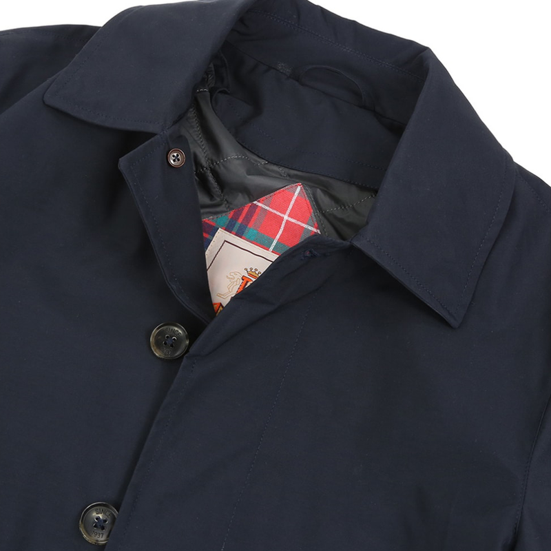 Navy G10 Detachable Liner Raincoat