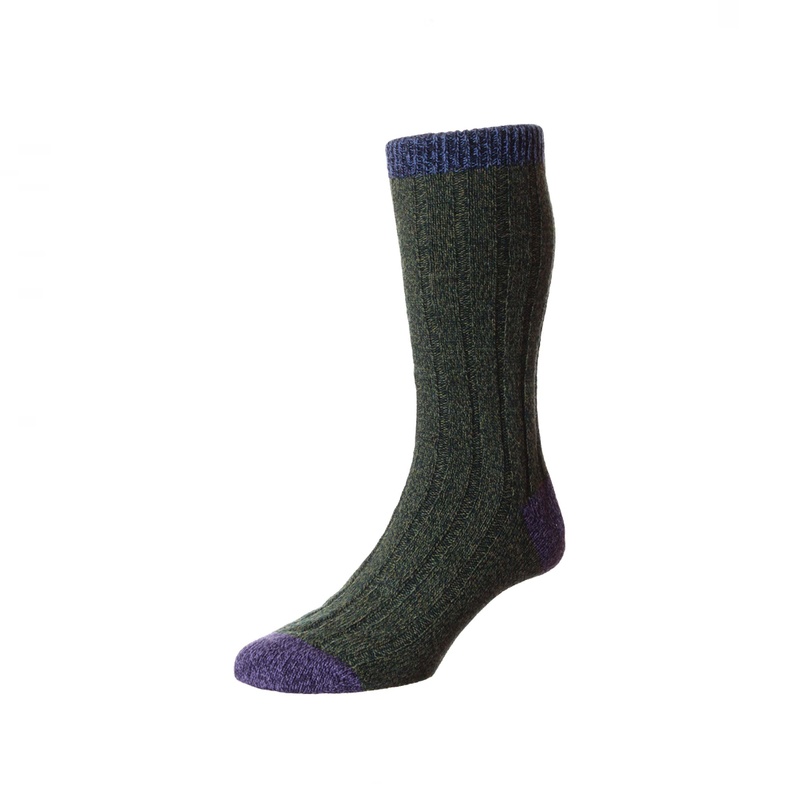 Forest Marl Burghley Socks