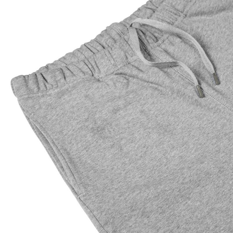 Mason & Sons | Sunspel Cotton Loopback Track Pant in Grey Melange -2