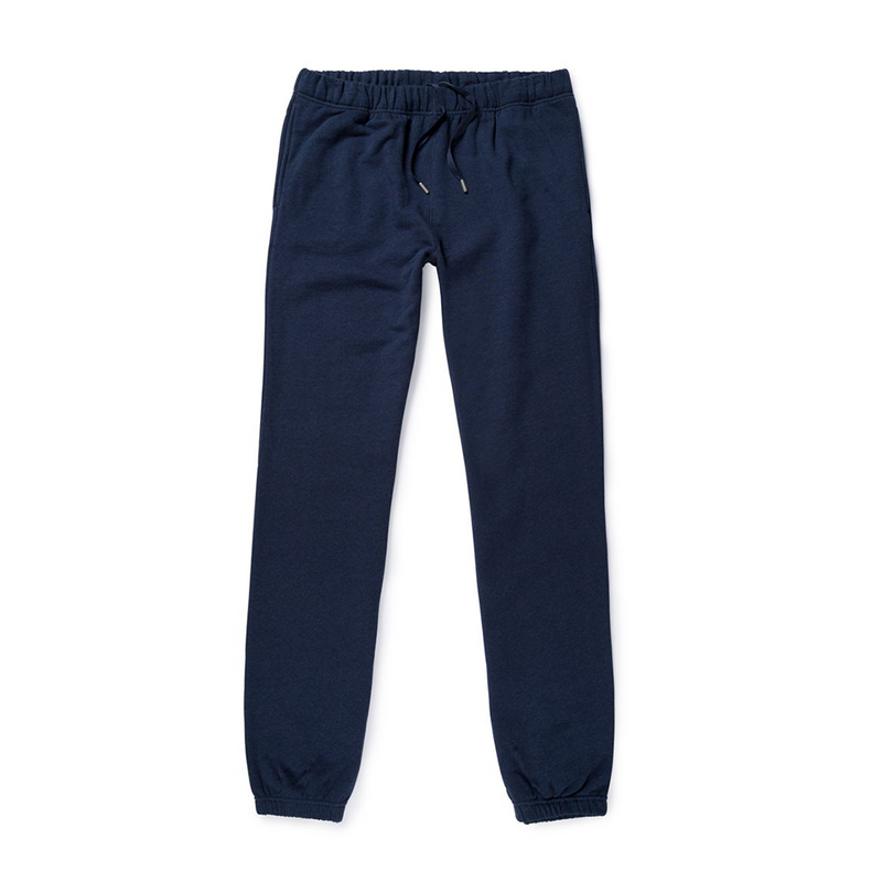Mason & Sons | Sunspel Cotton Loopback Track Pant in Navy -1
