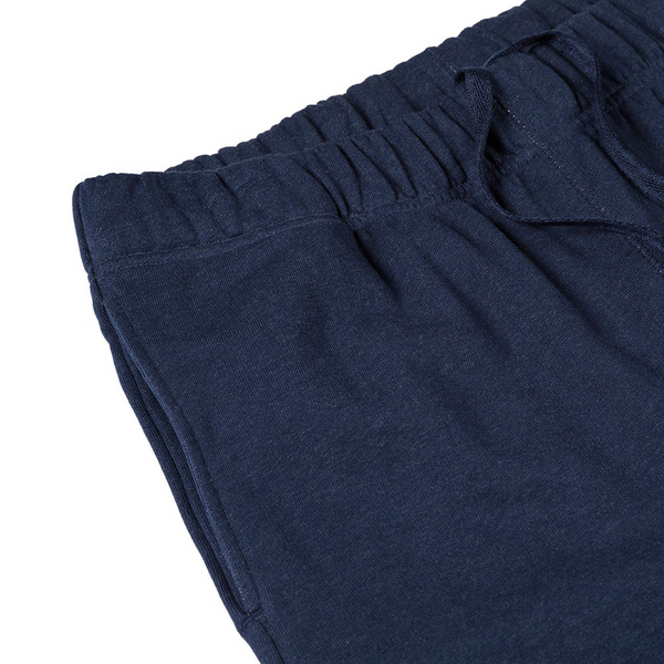 Mason & Sons | Sunspel Cotton Loopback Track Pant in Navy -2