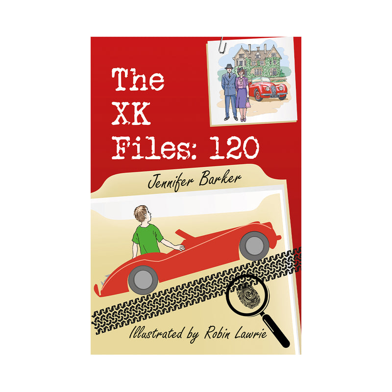 The XK Files: 120, by Jennifer Barker (children's book)