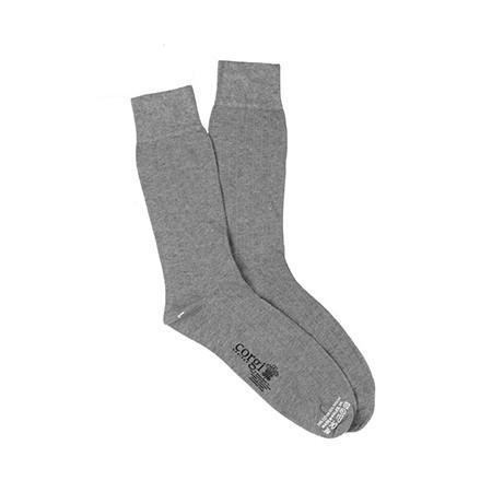 Grey Lightweight Cotton Socks