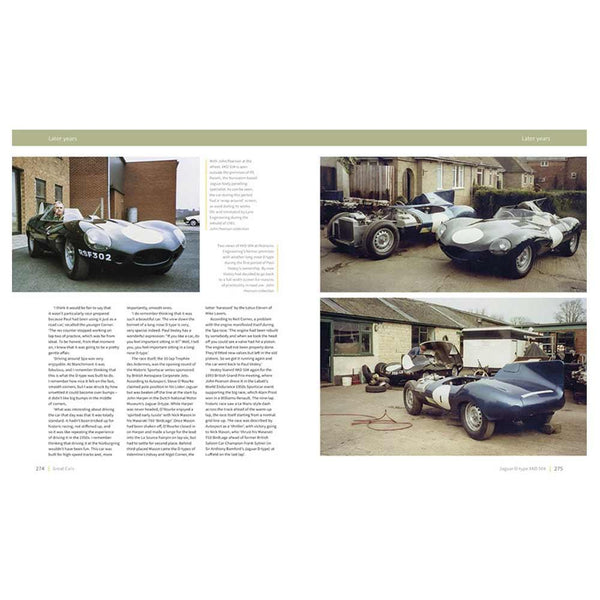 Jaguar D-type - The autobiography of XKD 504