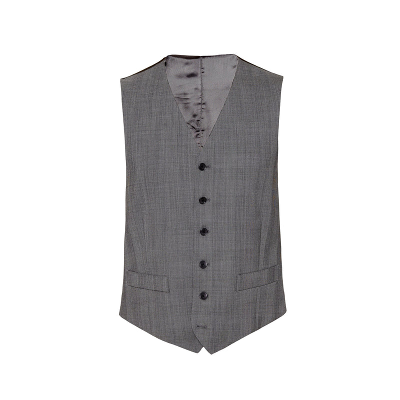 Prince of Wales Check Conduit Cut Suit Waistcoat