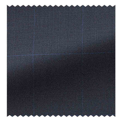 Navy Glen Plaid with Blue Overcheck Four Seasons (130'S)