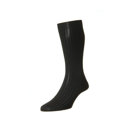 Black Danvers Anklet Socks