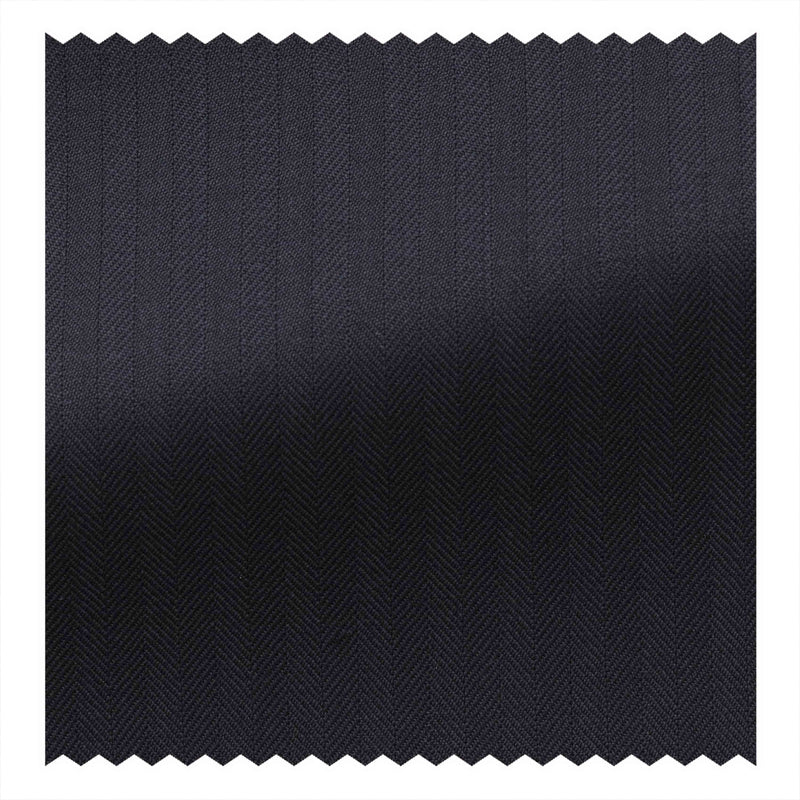 Midnight Blue Herringbone Four Seasons