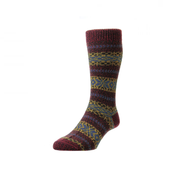 Chestnut Marl Farne Socks
