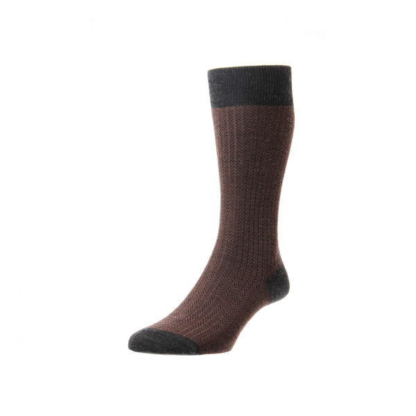 Charcoal Finsbury Anklet Socks