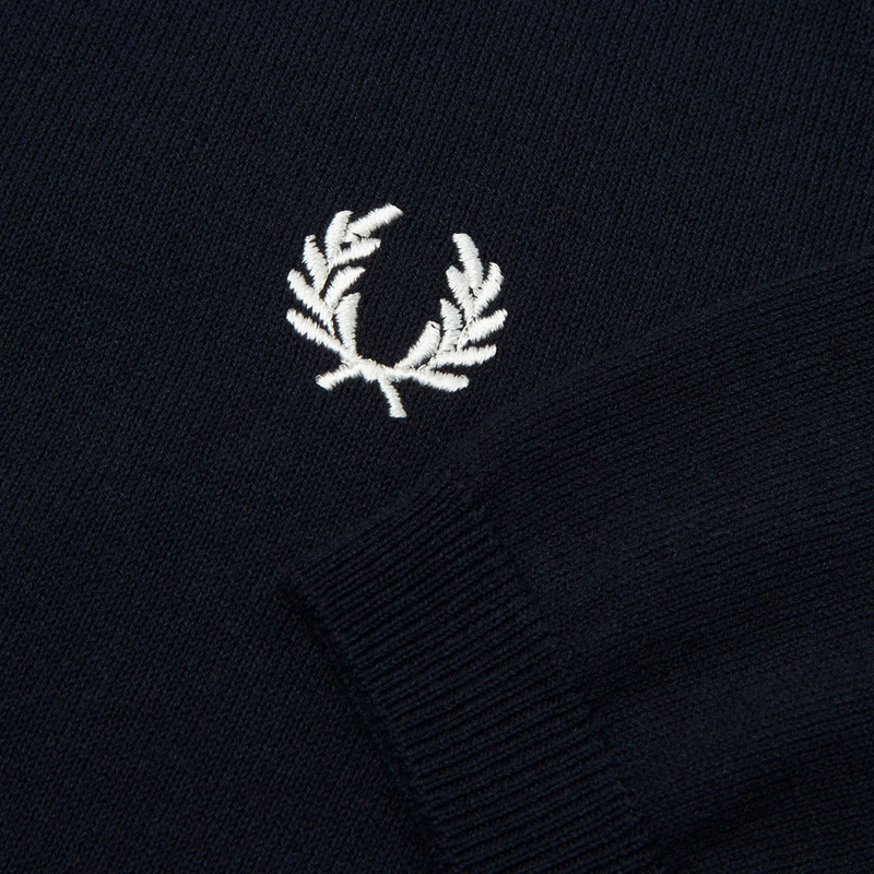 Mason & Sons | Fred Perry Raglan Knitted Polo Shirt -4