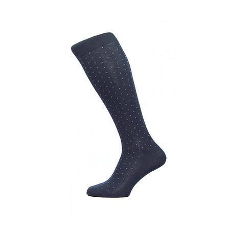 Navy Gadsbury Long Socks