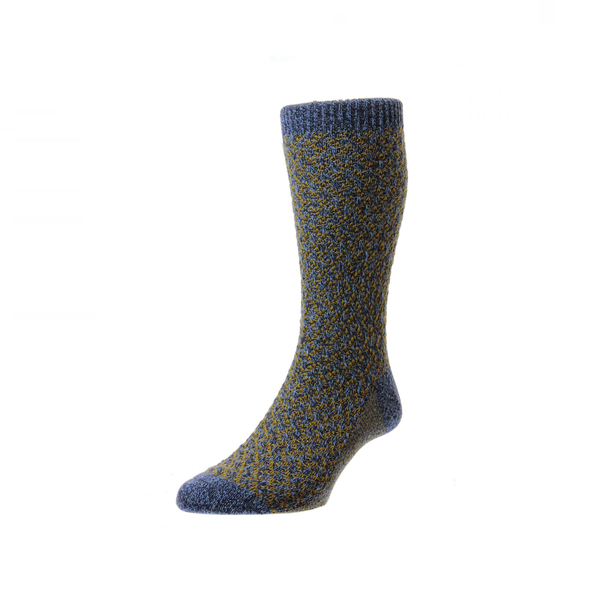 Denim Marl Heysham Socks