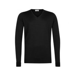 Black Bobby V-Neck Pullover