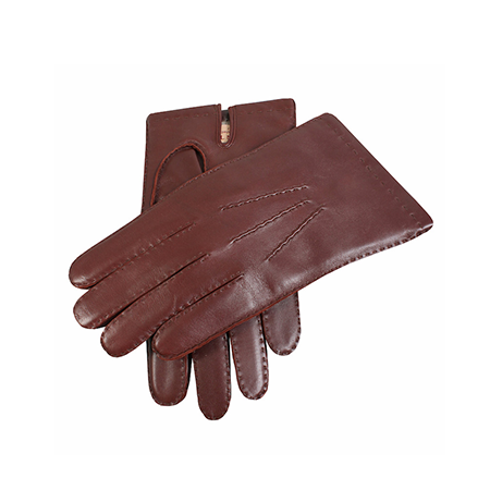 English Tan Cashmere Lined Leather Gloves