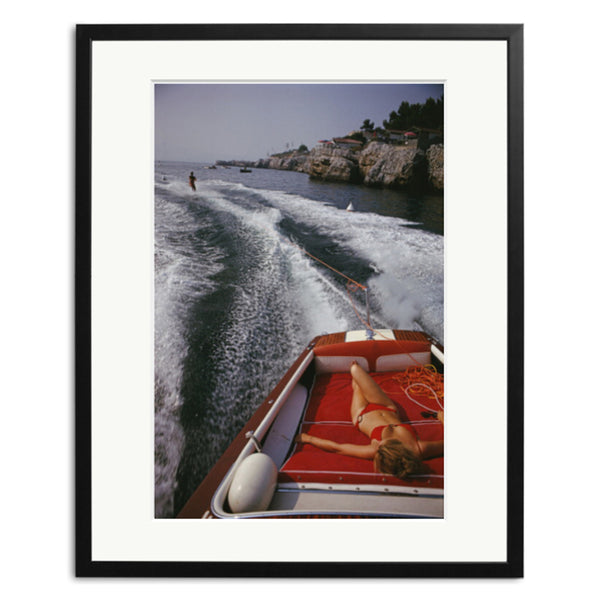 Slim Aarons 'Leisure In Antibes'
