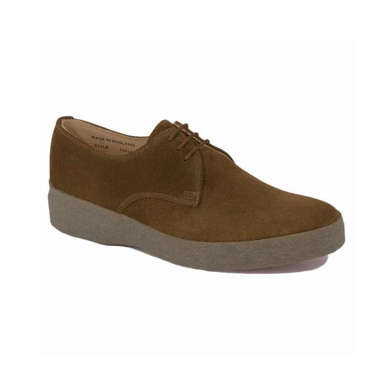Chocolate Lo-Top Gibson Shoe