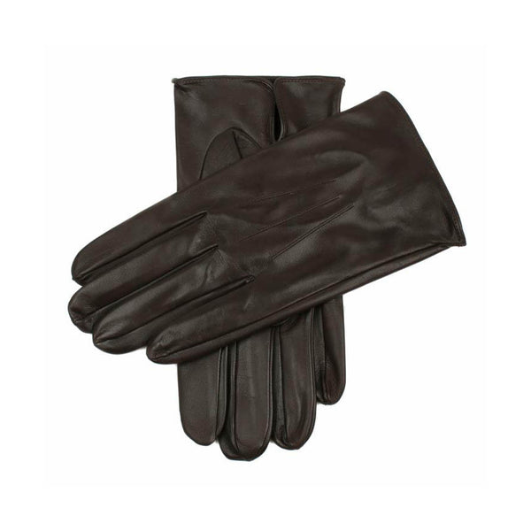 Brown Milton Unlined Leather Gloves