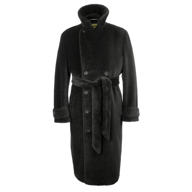 Black Teddy Bear Coat
