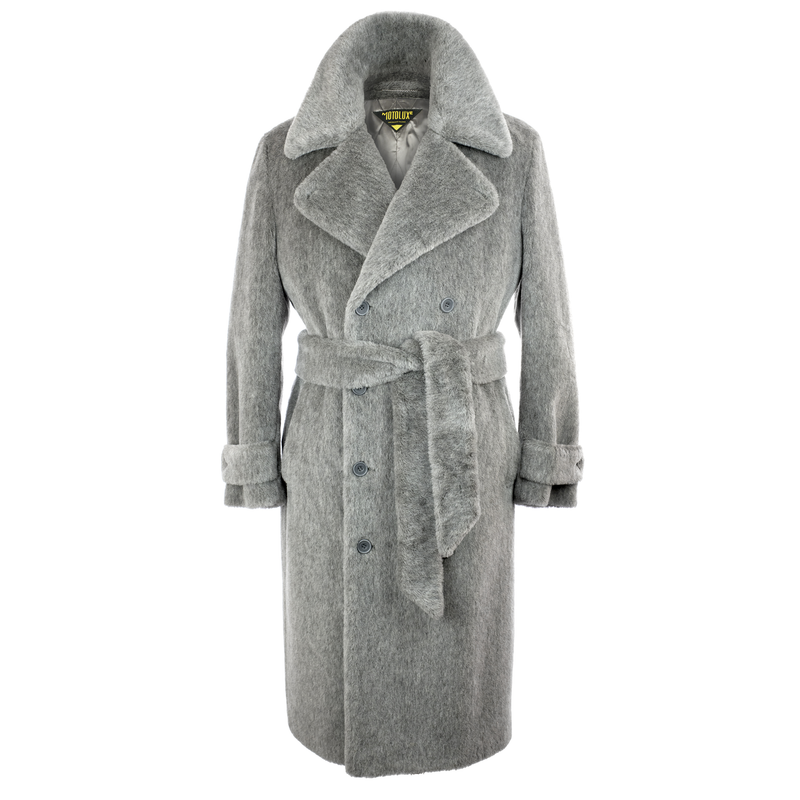 Grey Teddy Bear Coat