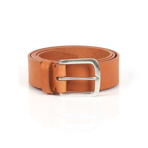 Original Belt in Tan with Polished Pewter