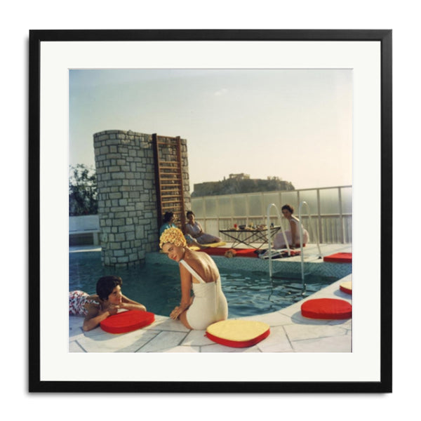 Slim Aarons 'Penthouse Pool'