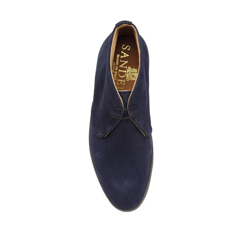 "Navy ""Playboy"" Chukka Boot"