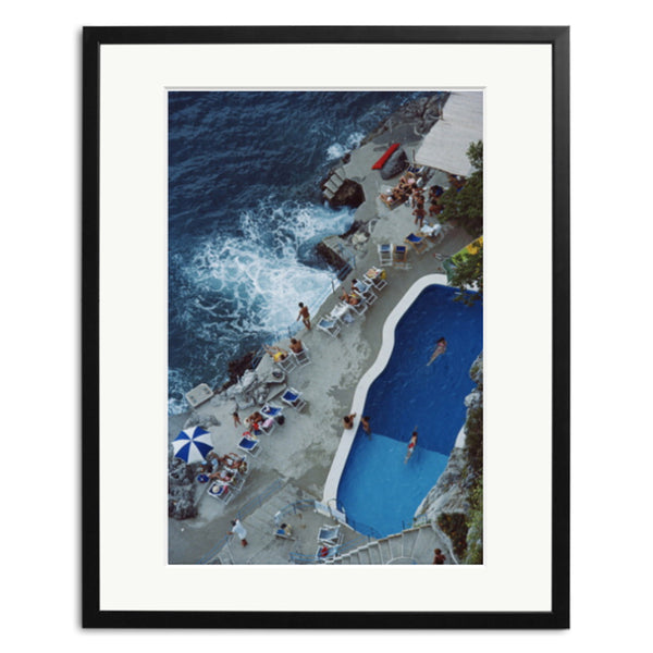 Slim Aarons 'Pool On Amalfi Coast'