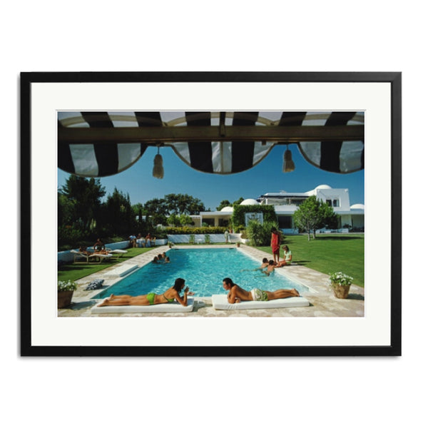 Slim Aarons 'Poolside in Sotogrande'
