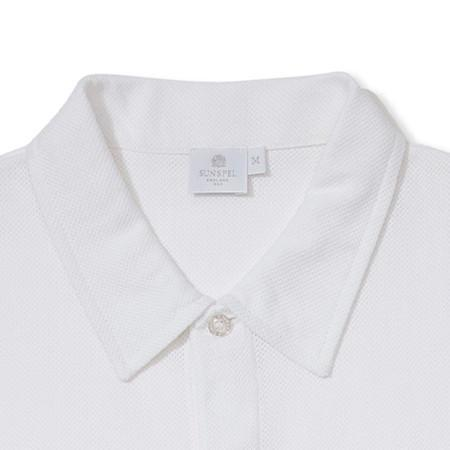 White Riviera Polo Shirt