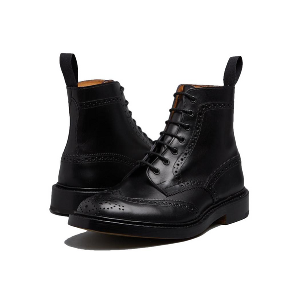 Black Stow Country Boot
