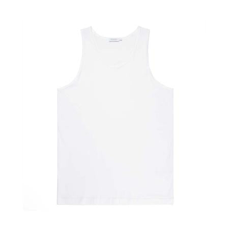 White Superfine Cotton Vest